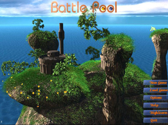 Battle Pool is a 3D turn-based strategy game.