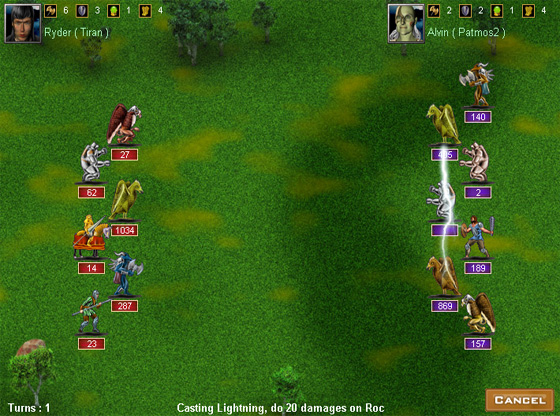 Click to view Empires Online 1.50 screenshot