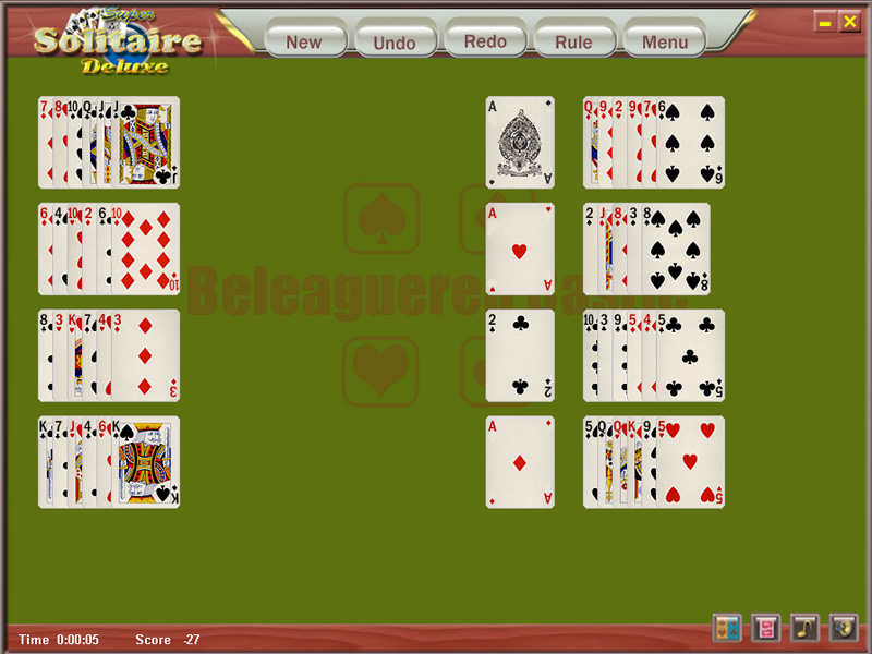 Click to view Holiday Solitaire 1.021 screenshot