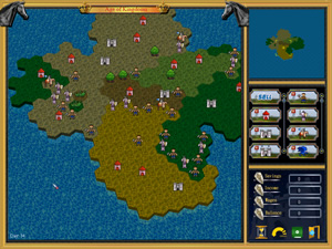 A strategy game,fun to play: Age of Kingdoms